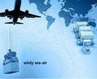 Sea Air logistics from China to Sharjah
