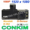 Newest Version Full 1080P HD Car Camera 1920x1080 H.264 Video+120Degree +2 LED Night Vision +G-Sensor Car DVR Black Box GS2000L