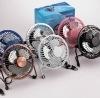 mini metal laptop electric fan for business gift