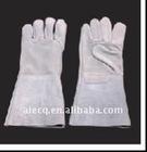 14 inch/16 inch cowhide split leather welding glove