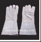 14 inch/16 inch cowhide split leather welding glove