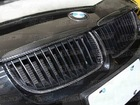 CARBON FIBER GRILLE COVER FOR 2006-2009 BMW E90(JSK080528)