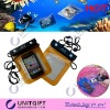 Mobile phone pvc waterproof bag