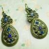 Rhinestone Earrings Drop Earrings