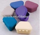2 Denture cup DENTURE BATHS container box