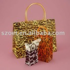 Transparent or Semitransparent PP Shopping Bag with customized design
