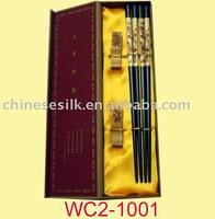 chinese wood chopsticks set