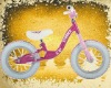 XMN-BB-003 Princess balance bike pink