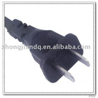Chinese CCC 2 Pins AC Power Cord Electrical Cord 6A 250V Power cable