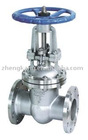 High pressure stainless steel gate valves