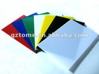 Colorful acrylic sheet