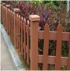 WPC garden fence material
