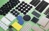colorful round EVA furniture pad