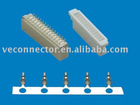 1.0mm 90 degree Wafer with SMD, and housing and terminal