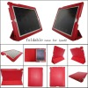 for ipad2 smart cover leather case , MOQ:300pcs wholesale
