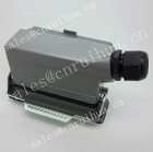 manufacture HDC-HE-024-01DB 24 pins with cover heavy duty pin rectangular connector