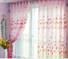 Luxury Curtain big flower print curtain