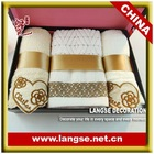 100% cotton bath towel and face towel for business gifts