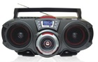 Fashion Portable DVD/CD player boombox with USB/SD/radio slot