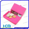 2011 reatangular silicone coin wallet