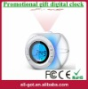 Sensitive voice-activated digital calendar alarm clock