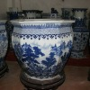 Chinese Blue and White Porcelain Fish Bowl RYUZ05