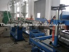 PE double wall corrugated pipe equipment