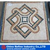 Indoor decorative mosaic pattern