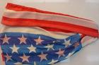 star flag style spring beach shawl