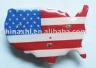 American Flashing Flag Pins