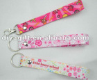 [DIA]colorful custom key lanyards/heat transfer key lanyards
