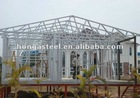 light steel roof structure house