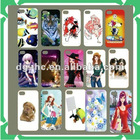 color printed silicone lovely new phone case cover
