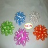 solid color pp star bow, gift ribbon flower