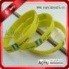 cheap custom silicone bracelet with logo printing