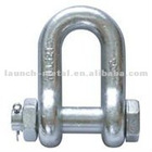 screw pin or bolt type steel d shackle