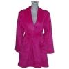100% polyester coral fleece lady's bathrobe
