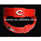 baseball wristband with ions power, 9 teams logo,