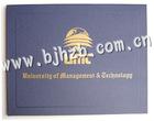PU leather honor graduation/diploma certificate