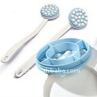 massager bath brush,long hand bath brush