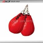 Mini art custom boxing keyring pear bag