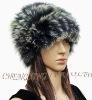 CX-C-23B Unisex Fox Fur Knitted Fashion hat