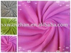 100% polyester plain polar fleece shaoxing fabric