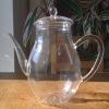 heat resistant pyrex glass teapot pitcher