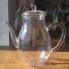 heat resistant pyrex glass teapot pitcher