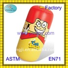 2011 hot sale plastic pvc air inflatable tumbler for kids