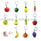 stress ball with key ring