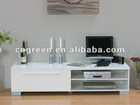 MDF white high gloss lacquer TV stand (G-HG14)