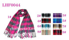 checked viscose Scarf