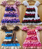 Adorable design multicolor satin Petti Dress,wholesale Lace Dress,Fashion satin Dress cap sleeve